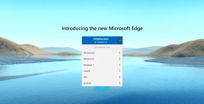 Download Edge for OS