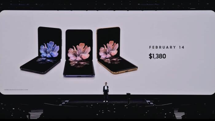 Price for Galaxy Z Flip