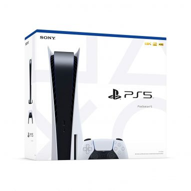 Sony PlayStation 5 Console (Standard Disc Game Version)