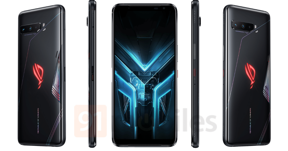 Asus ROG Phone 3 Renders