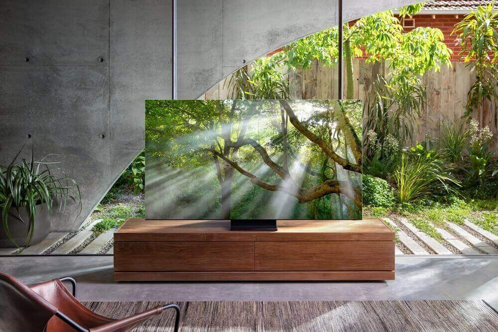 Bezel-less TV by Samsung