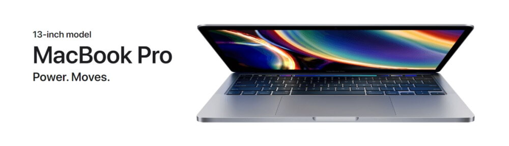 The new 13-inch MacBook Pro