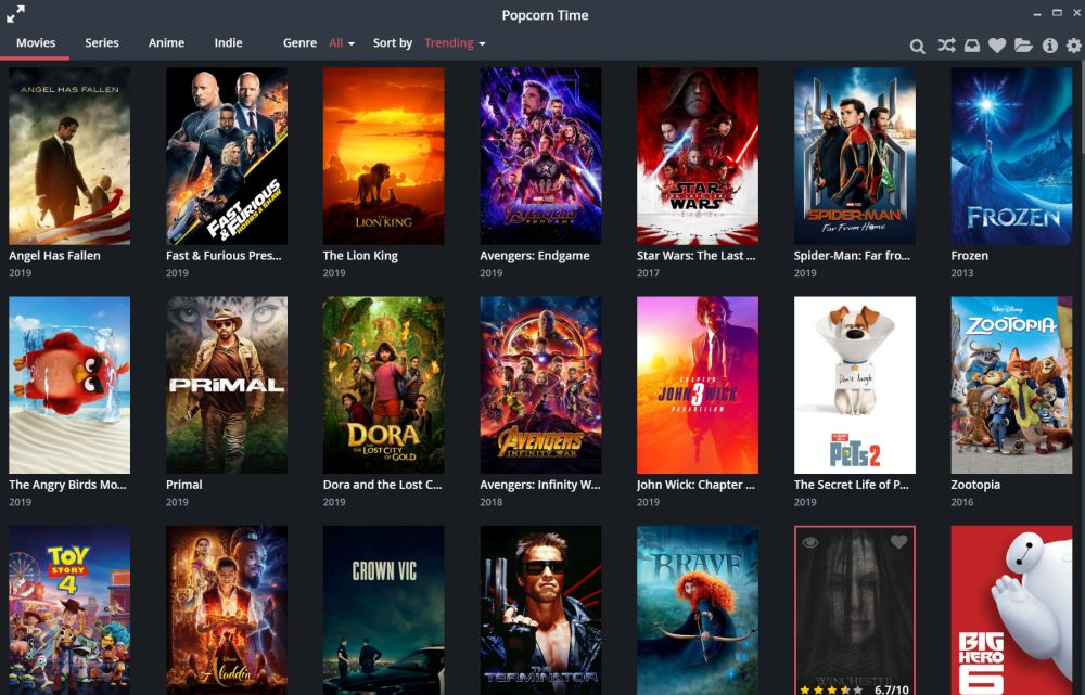 Popcorn Time A Peer To Peer Bittorrent Client Allows You To Watch Free Videos Online
