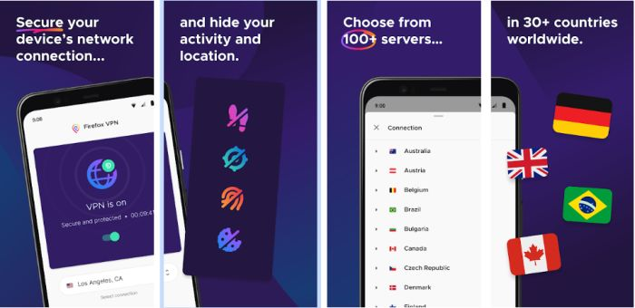 Firefox VPN on Android