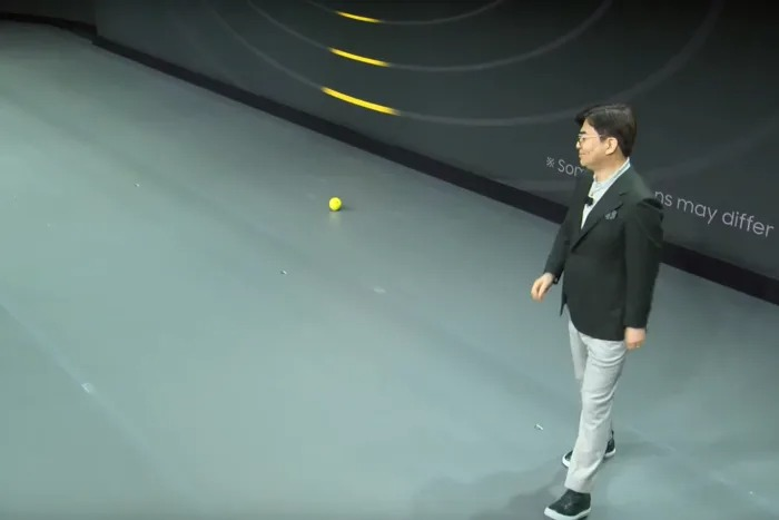 Ballie on CES Stage